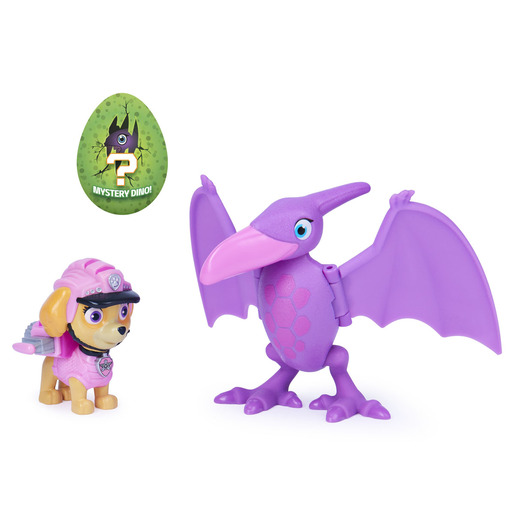 Paw Patrol Dino Rescue - Skye And Pterodactyl Figure