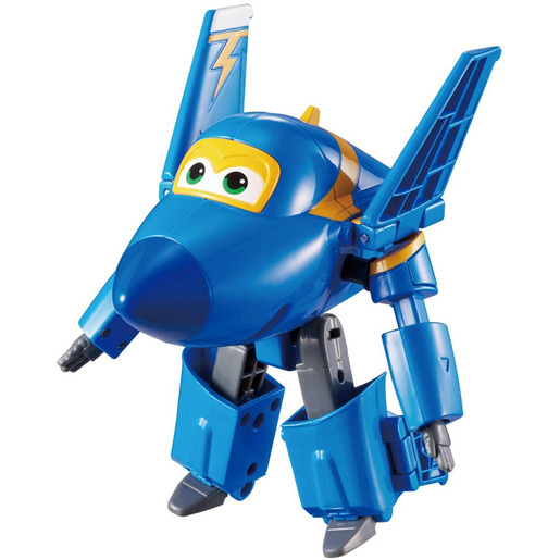 Super Wings Change Up Transforming Figure - Jerome