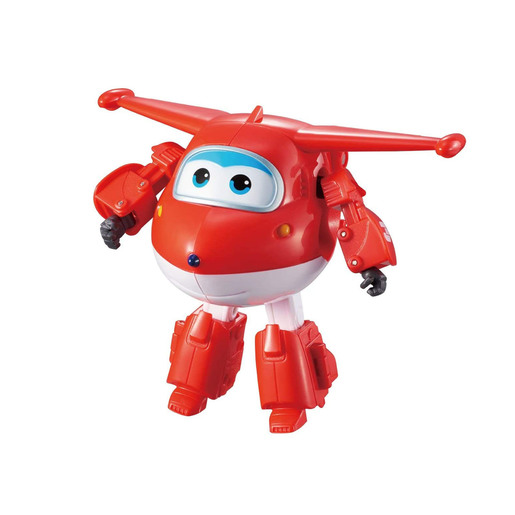 Super Wings Change Up Transforming Figure - Jett