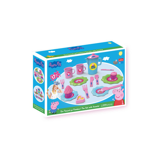 Peppa Pig Tea Set With Sweets