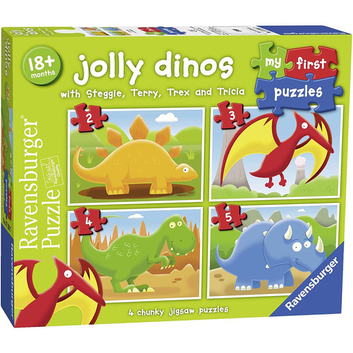 My First Puzzles - Jolly Dinos