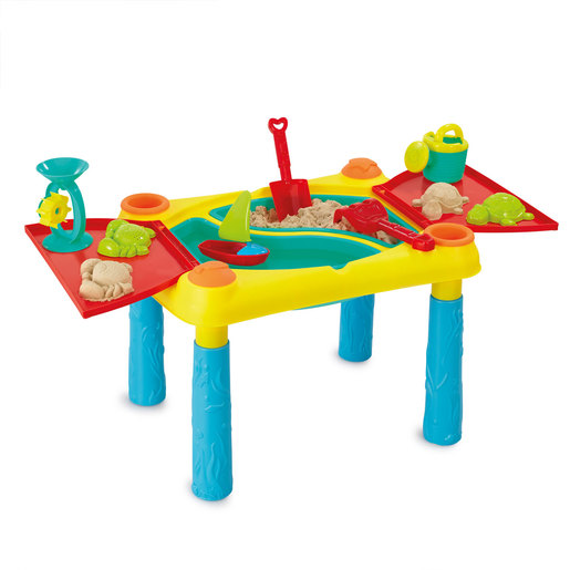Out & About Deluxe Sand and Water Table with Lid & Accessories(H45cm)