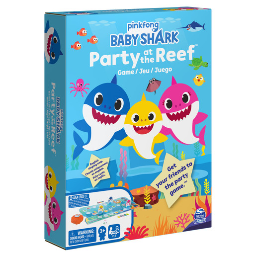 Baby Shark Party at the Reef Game