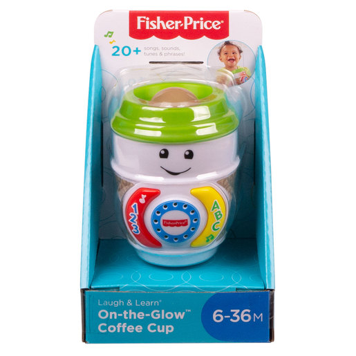 Fisher-Price Laugh & Learn Glow Coffee Cup
