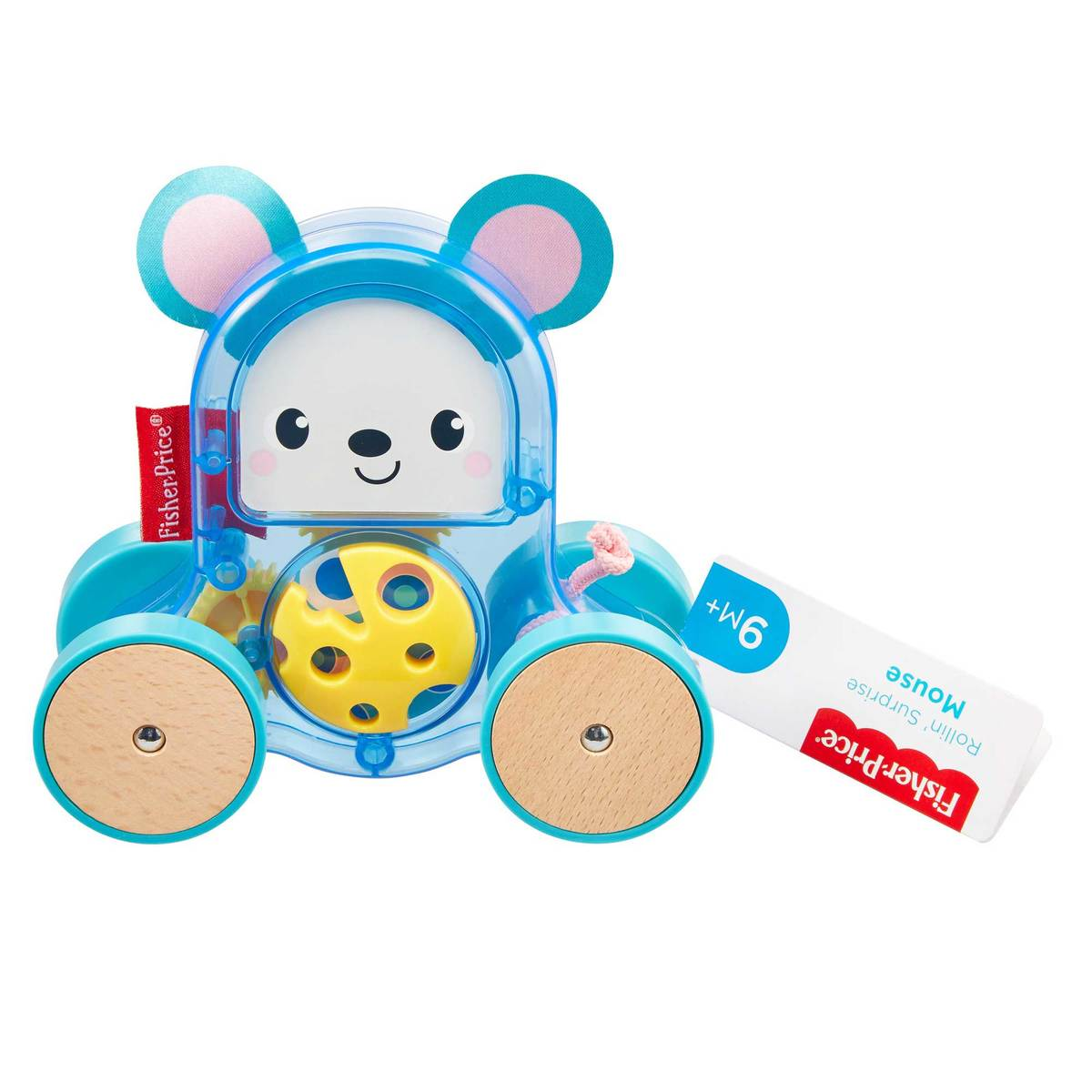 Fisher-Price Rollin' Surprise push-along - Mouse