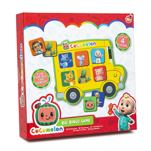 CoComelon School Bus Bingo Game