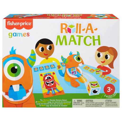 Fisher-Price Roll-a-Match Game