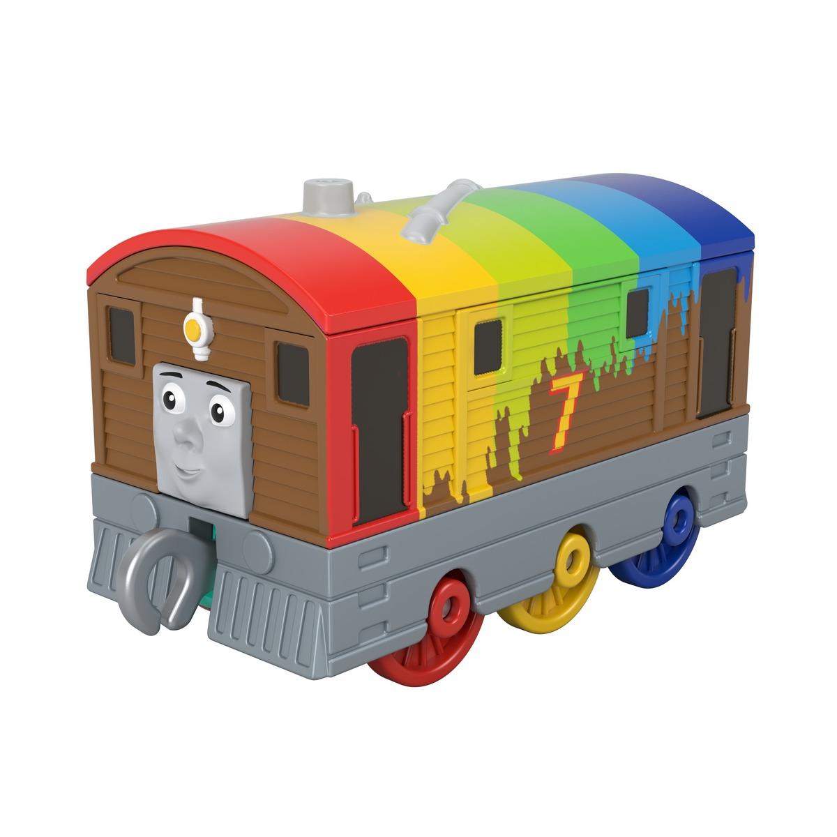 Thomas & Friends - Rainbow Toby Train Engine