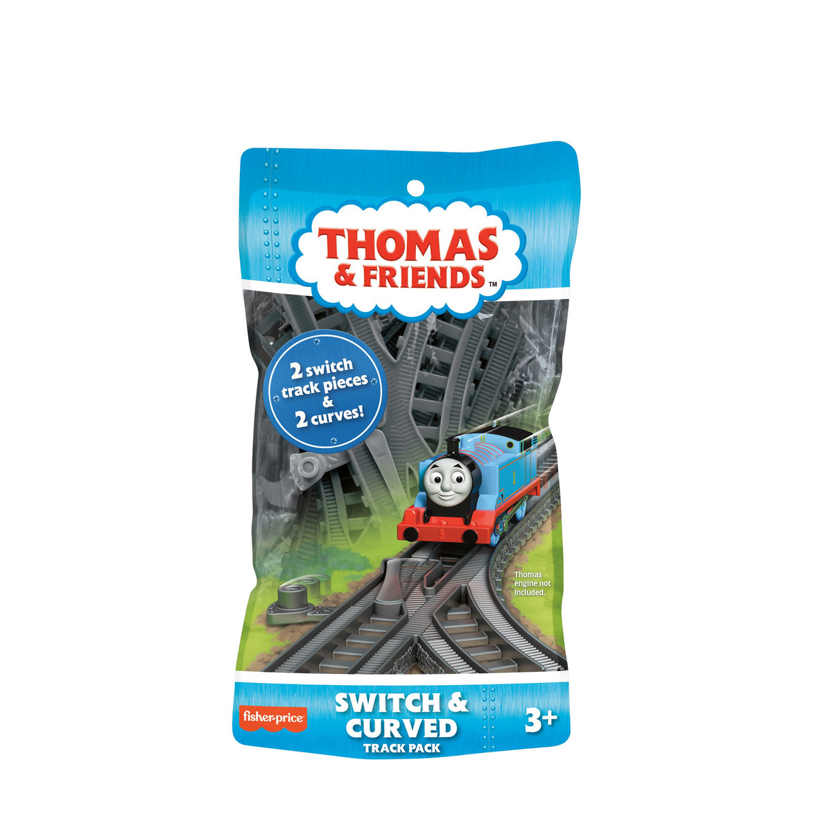 Thomas & Friends Trackmaster - Switch & Curved Track