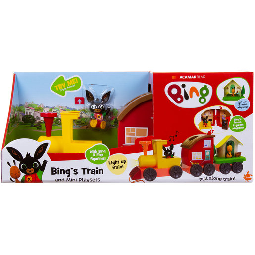 Bing's Lights and Sounds Train with Playsets