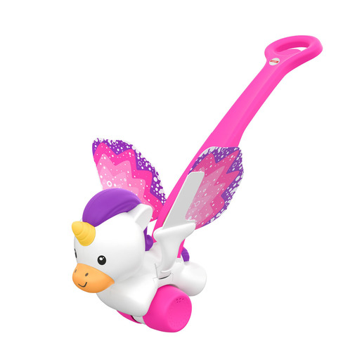 Fisher-Price - Push & Flutter Unicorn