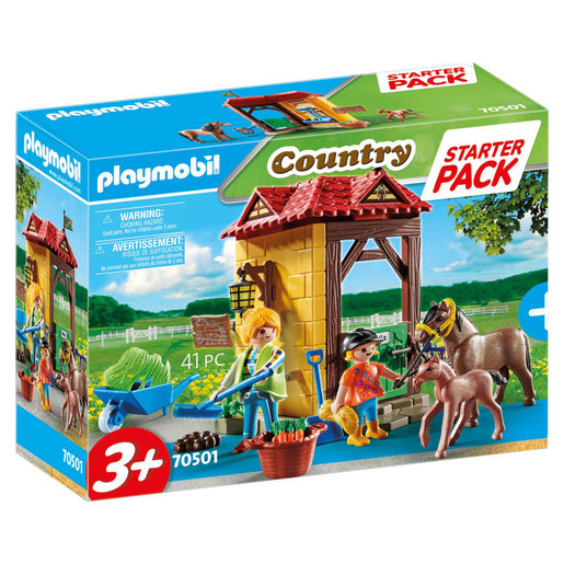 Playmobil 70501 Country Horse Farm Large Starter Pack Playset