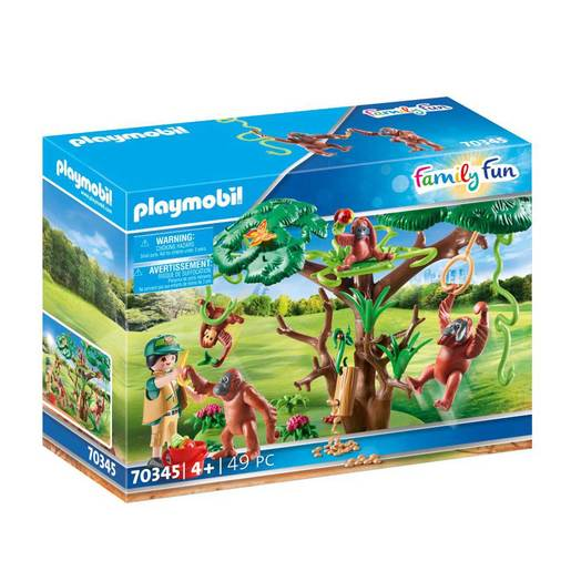 Playmobil 70345 Family Fun Orangutans with Tree