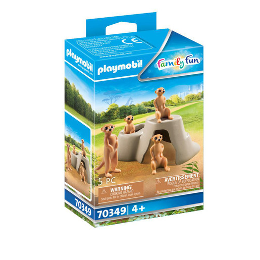 Playmobil 70349 Family Fun Meerkats