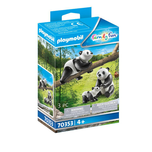 Playmobil 70353 Family Fun Pandas with Cub