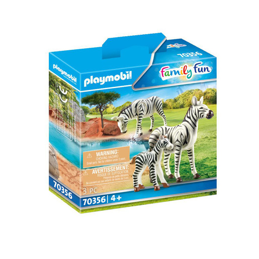 Playmobil 70356 Family Fun Zebras with Foal