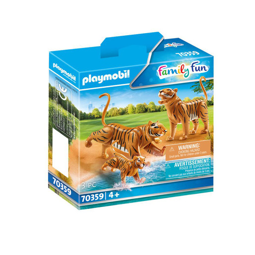 Playmobil 70359 Family Fun Tigers with Cub
