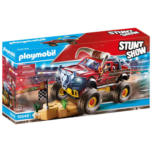 Playmobil 70549 Stunt Show Bull Monster Truck