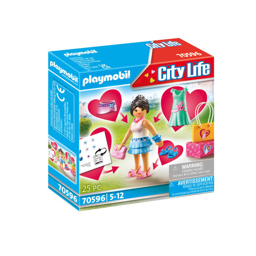 Playmobil 70596 City Life Fashion Shopping Trip