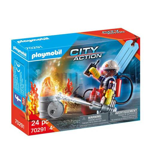 Playmobil 70291 Fire Rescue Gift Set