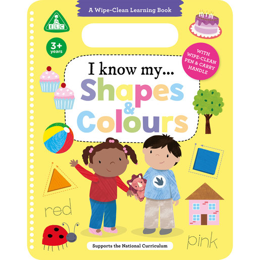 Early Learning Centre I Know My Shapes & Colours Wipe Clean Book