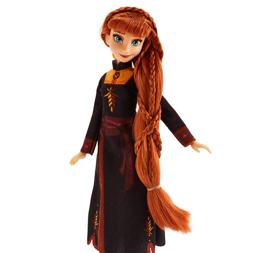 Disney Frozen 2 - Sister Styles Anna Fashion Doll