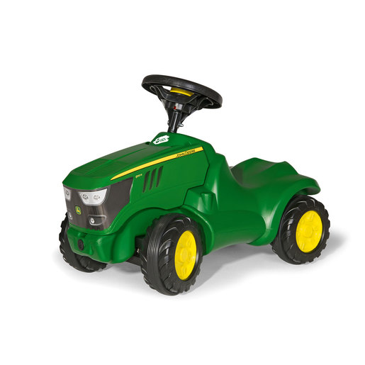 Rolly Kid John Deere Ride-On Mini Tractor With Opening Bonnet