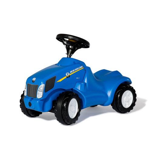 Rolly Kid New Holland Ride-On Mini Tractor With Opening Bonnet