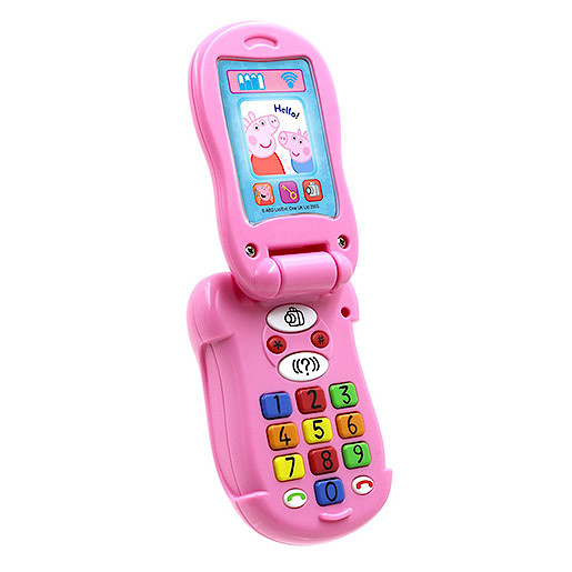 Peppa Pig Flip and Learn Phone