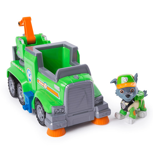 Paw Patrol Ultimate Rescue Vehicle With Pup - Rocky