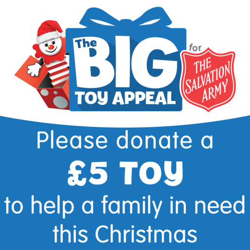 The Big Toy Appeal for The Salvation Army